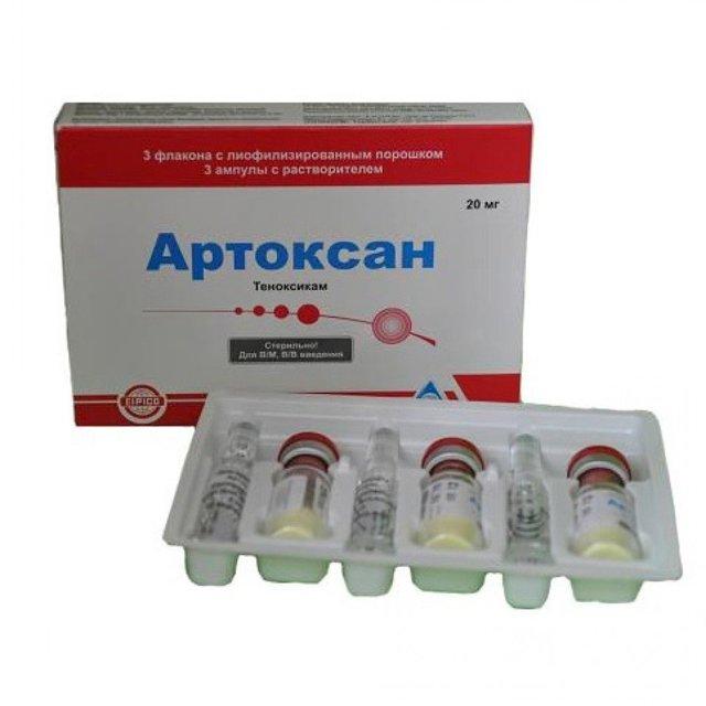 Артоксан: аналоги, инструкция по применению, цена, отзывы