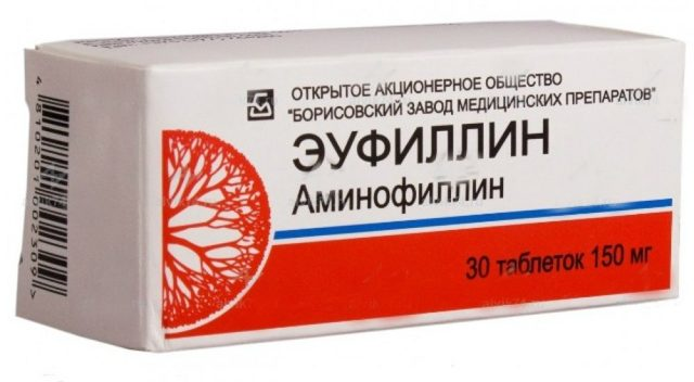 Эуфиллин: аналоги, инструкция по применению